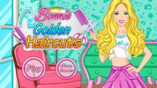 Игра про Барби Прическа, одежда и макияж