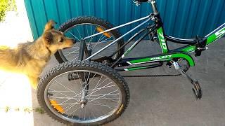 трехколесный велосипед самодельный