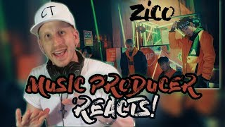 Music Producer Reacts to 지코 (ZICO) - BERMUDA TRIANGLE (Feat. Crush, DEAN)