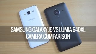 Samsung Galaxy J5 vs Lumia 640XL- Camera Comparison | Techniqued