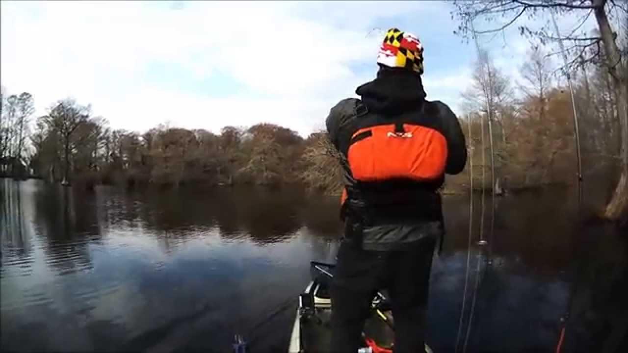 Kayak bass fishing tournament winter bass fishing december for Kayak bass fishing tournaments