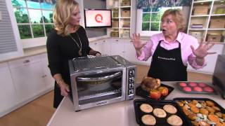 "KitchenAid 12"" Countertop Convection Oven w/Broil Pan & Crumb Tray with Pat James-Dementri"