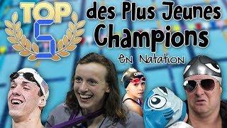 TOP 5 des Plus Jeunes Champions de Natation - Salut les Baigneurs #71
