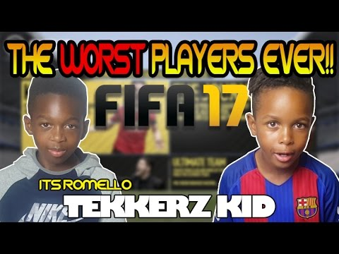 FIFA 17!! | Possibly The Worst FIFA 17 Players Ever?? | FIFA 17 GIVEAWAY!! | Tekkerz Kid