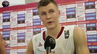 Kristaps Porzingis: Cedi Osman tam NBA'in aradığı tarzda biri