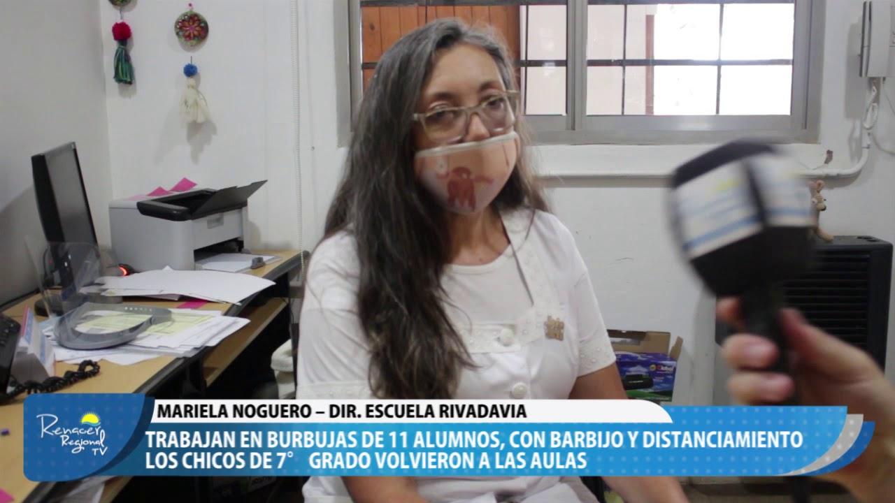 19-02-21 Nota Mariela Noguero – Dir. Escuela Rivadavia
