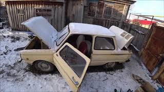 МОНСТР ОЖИЛ  ЗАЗ -968  оживление после простоя.