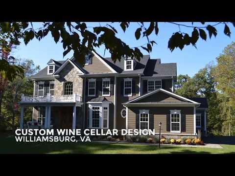 Custom Wine Cellar Design - Williamsburg, VA