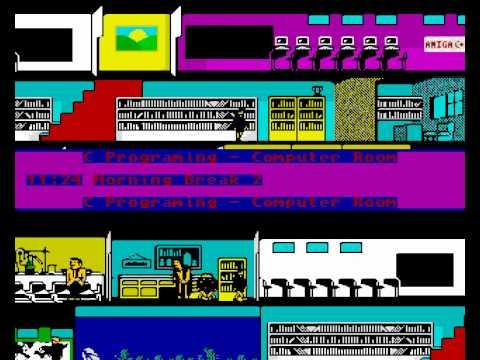 Skoolz Out ! - UnFinished Amiga Game Demo |