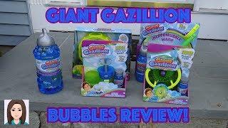 Giant Gazillion Bubbles Review!