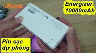 Pin sạc dự phòng Energizer 10000mAh sạc nhanh 3.0 chính hãng