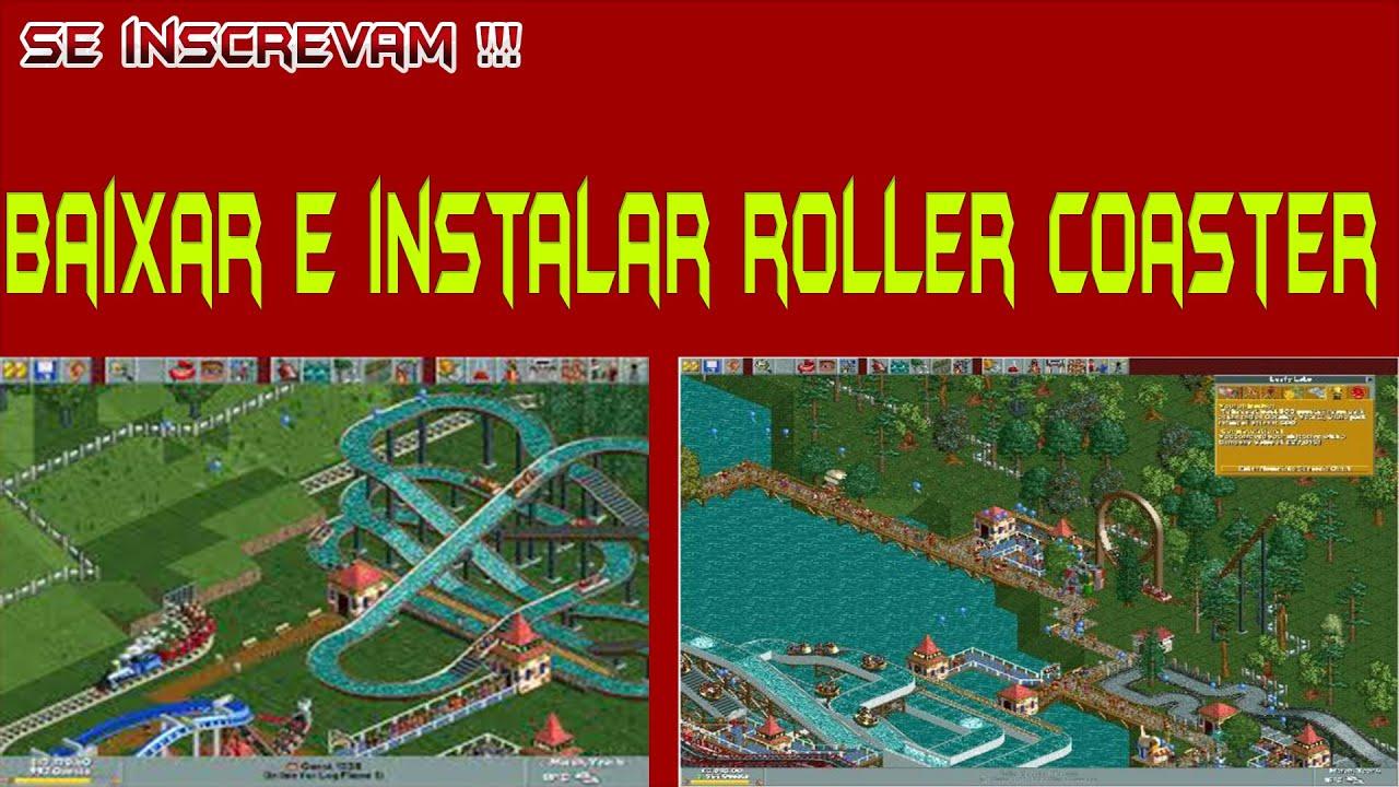 roller coaster tycoon 1 baixaki