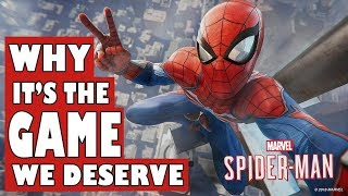 Spiderman - Why Its the Game We Deserve