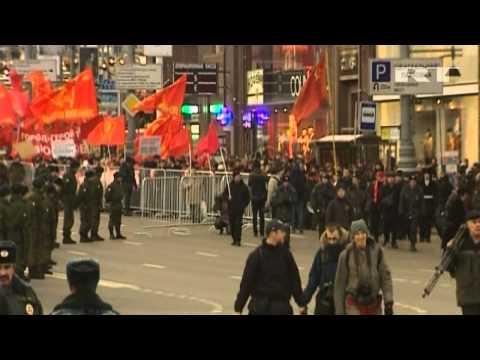 Russian COMMUNISTS Mark 95th ANNIVERSARY of the OCTOBER REVOLUTION | Bolshevik Revolution |