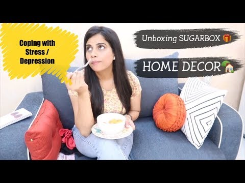 COPING WITH DEPRESSION | WEIGHT LOSS | Giveaway | SUGARBOX & HOME DECOR | Sana K