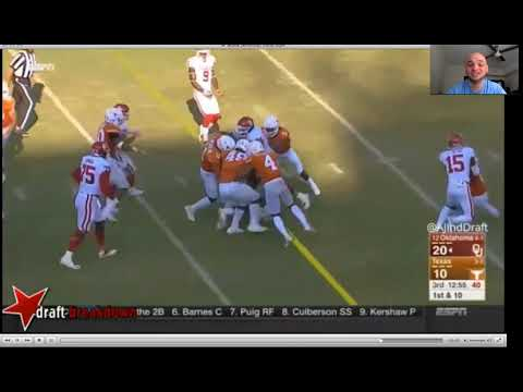 2018 NFL Draft Film Room: Texas Linebacker Malik Jefferson