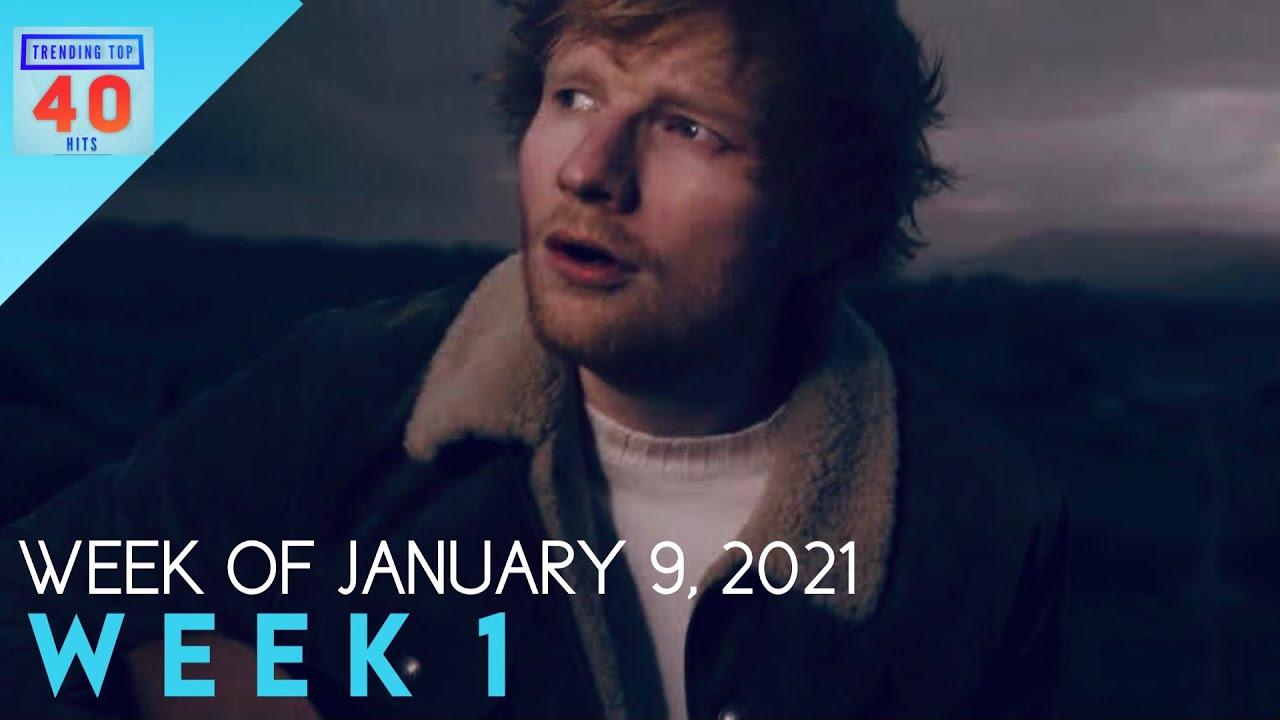 Trending Top 40 Hits - January 9, 2021 (Week 1)