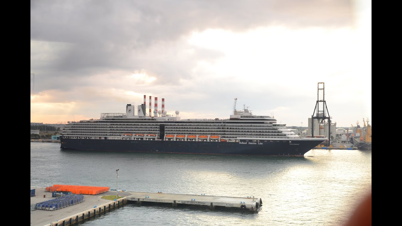 Holland America Lines Newest Ship MS Nieuw Amsterdam - Holland new amsterdam cruise ship