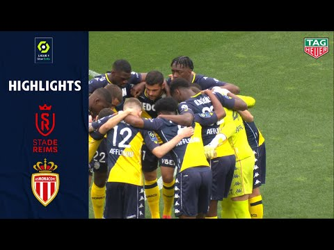 Reims Monaco Goals And Highlights