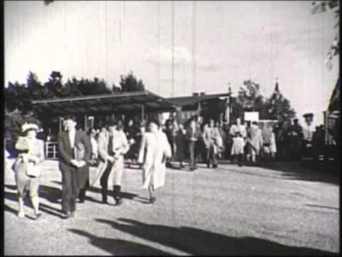 Ankomst - Landsstævne i Odense 1954