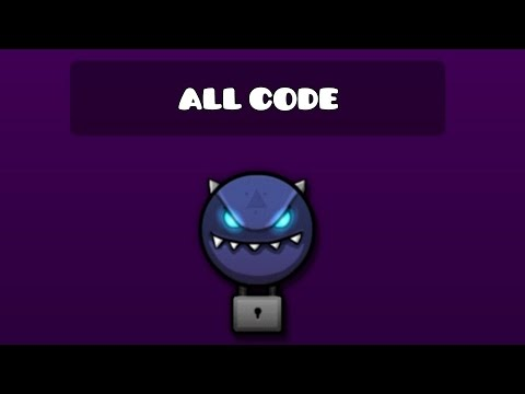 ALL SECRET VAULT CODES | GEOMETRY DASH WORLD (8 Codes) ( ͡° ͜ʖ ͡°)