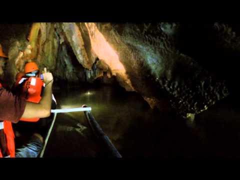 Underground River in Palawan, Philippines.