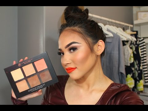 Anastasia Cream Contour Kit Review/Demo!