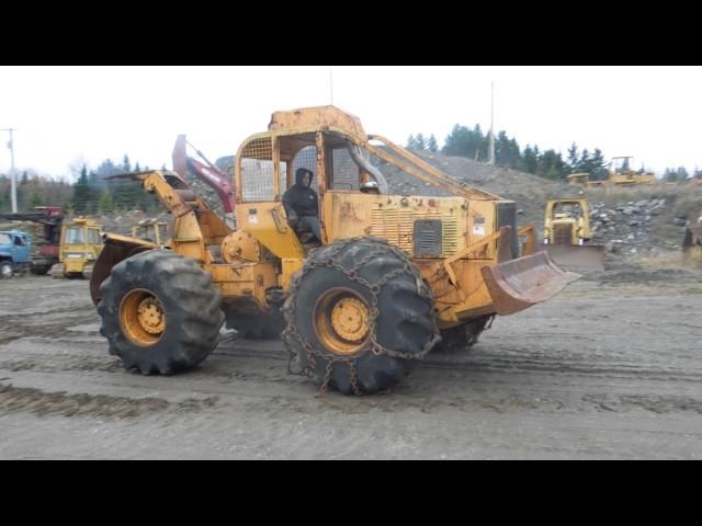 668 Clark Ranger Log Skidder sn#507A-102-CAC - LecLife