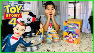 TOY STORY 4 Benson Stole my Ryan's Mystery Playdate Toys again!