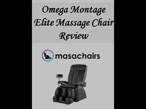 Omega Montage Elite Massage Chair Review   YouTube