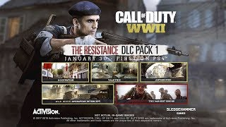 CALL OF DUTY: WWII - THE RESISTANCE DLC MAP PACK NEWS ROUNDUP! MW3 REMAKE, WAR & ZOMBIES!