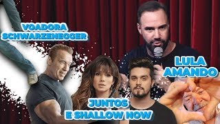 Stand up - Voadora no Schwarzenegger / Juntos e shallow now / Lula quer casar