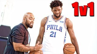 1v1 VS Joel Embiid - IRL Basketball | iPodKingCarter