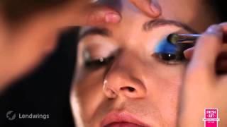 Яркий вечерний макияж на проблемной коже. Урок №16