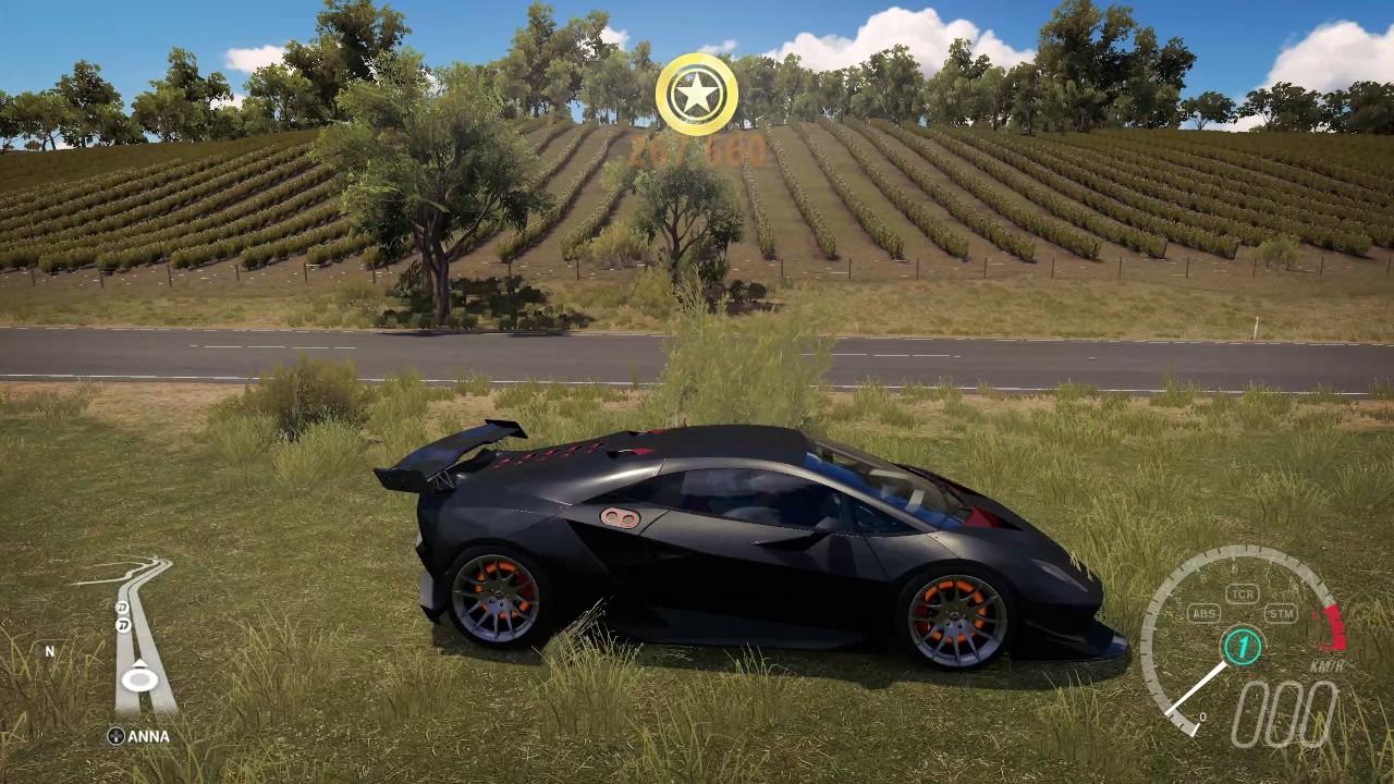 Forza Horizon 3 Tuning 2011 Lamborghini Sesto Elemento Top Speed