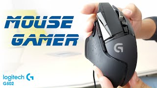 MOUSE GAMER ¿Vale la pena? | Ratón gaming Logitech G502 (español)