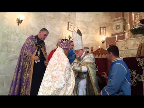 Blessing of the Cross-Stones in the Armenian Diocese of Iraq