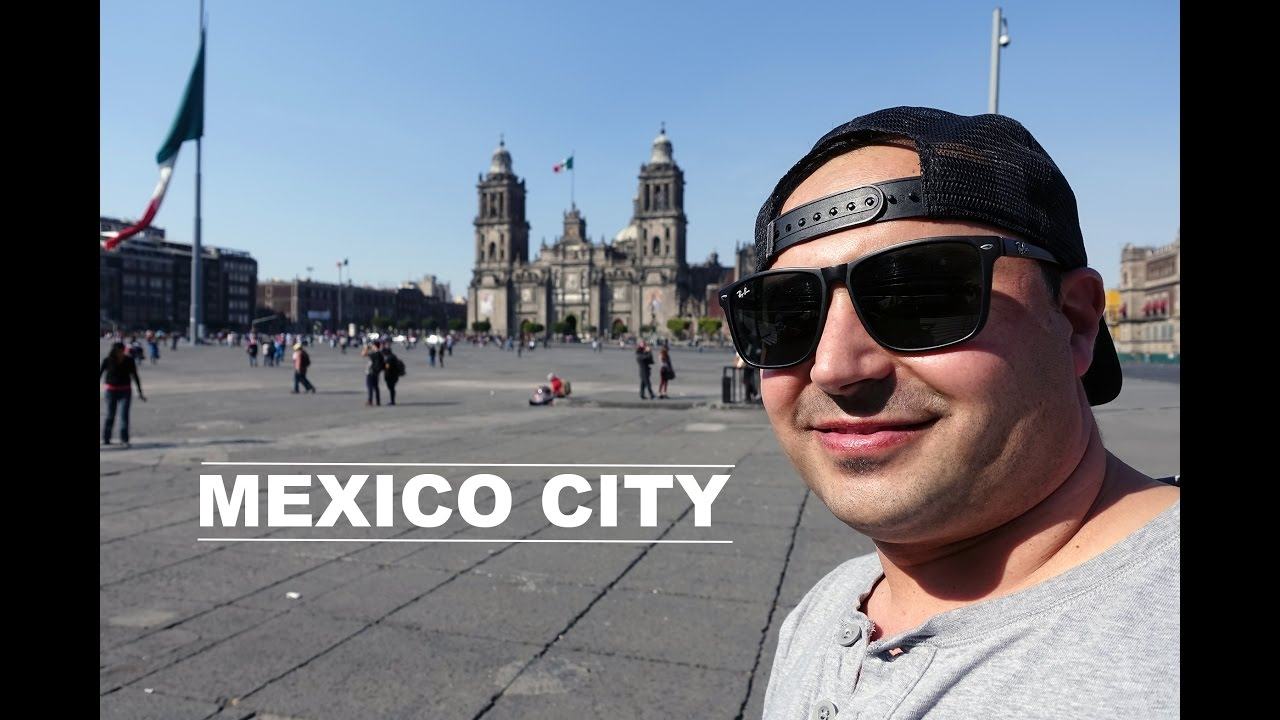 Mexico City Travel Tour! - 4K