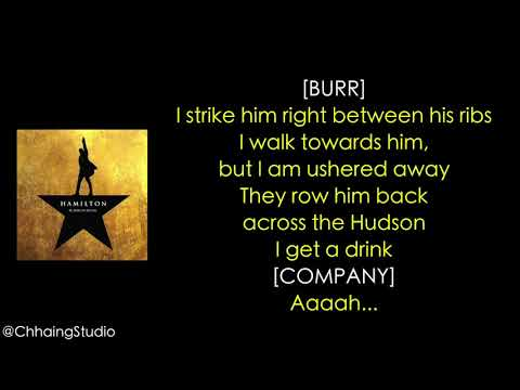 #45 Hamilton   The World Was Wide Enough MUSIC LYRICS