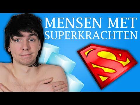 10 MENSEN MET SUPERKRACHTEN!