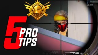 Top 5 Pro Tips - Ye Cheez Krlo Bass | How to Play Like Chinese Pro Players | Pubg Mobile |