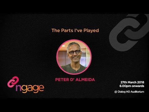 #ngage 10.0 Talk : The Parts I've Played - Peter D' Almeida