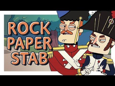 Rock, Paper, Stabbing Contest