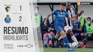 Highlights | Resumo: Portimonense 1-2 FC Porto (Liga 20/21 #24)