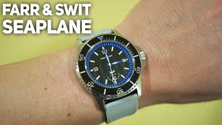 FARR AND SWIT SeaPlane Automatic Watch Review - Assembled in Chicago!