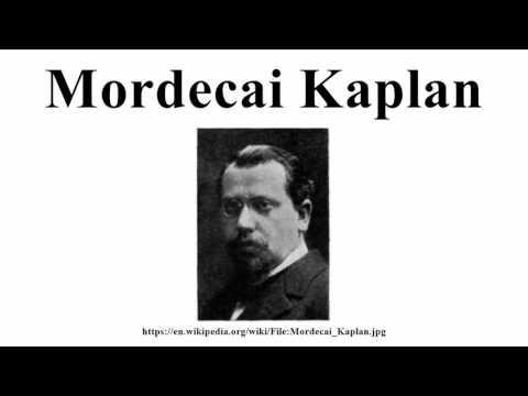 Mordecai Kaplan