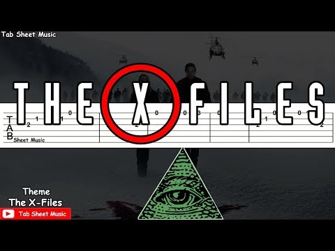 the-x-files---theme-guitar-tutorial-(illuminati-song)