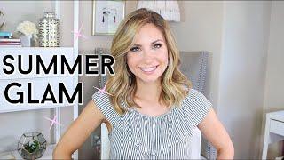Summer Glam! Warm Neutral Makeup Tutorial