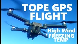 TOPE GPS THE FLIGHT Fpv RC Drone 1080P Camera 150° Wide Angle 5Ghz Follow Me Quadcopter