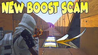 *NEW SCAM* Boost Map Scam! (Scammer Gets Scammed) Fortnite Save The World thumbnail